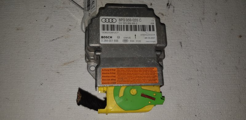 Блок srs Audi A3 ХЭТЧБЕК 5 ДВЕРЕЙ 2.0 ДИЗЕЛЬ 2007