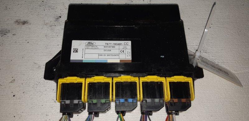 Блок управления сетевым интерфейсом Ford Galaxy 2.0 TD 2011