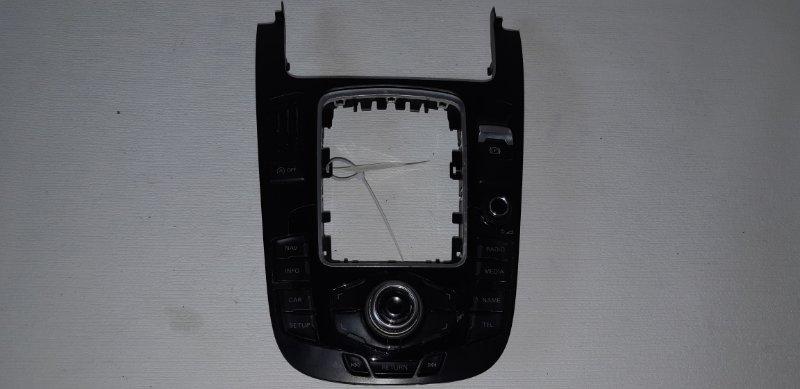 Консоль нижняя с управлением магнитолы Audi A5 2.0 БЕНЗИН 2010