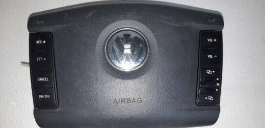 Подушка srs ( airbag ) в руль Volkswagen Touareg 2.5 TD 2006