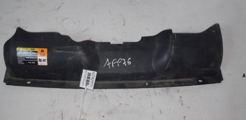 Дефлектор радиатора Ford Focus 2 ХЭТЧБЕК 1.8 БЕНЗИН QQDB 2007 верхний