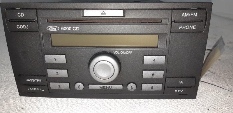 Магнитола Ford Focus 2 ХЭТЧБЕК 5 ДВЕРЕЙ 1.6 БЕНЗИН 100 Л.С. 2005