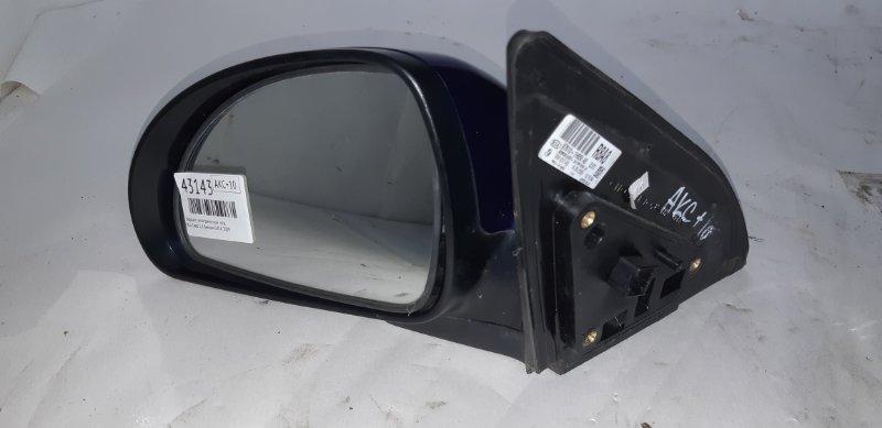 Зеркало электрическое Kia Ceed 1.4 БЕНЗИН G4FA 2009 левое