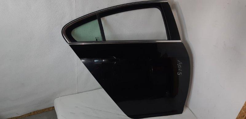 Дверь Opel Insignia ХЭТЧБЕК 1.8 БЕНЗИН A18XER 2012 задняя правая