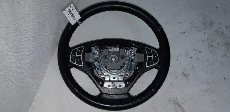 Руль 3-х спицевый Kia Ceed 1.6 I 126 Л.С. G4FC 2009