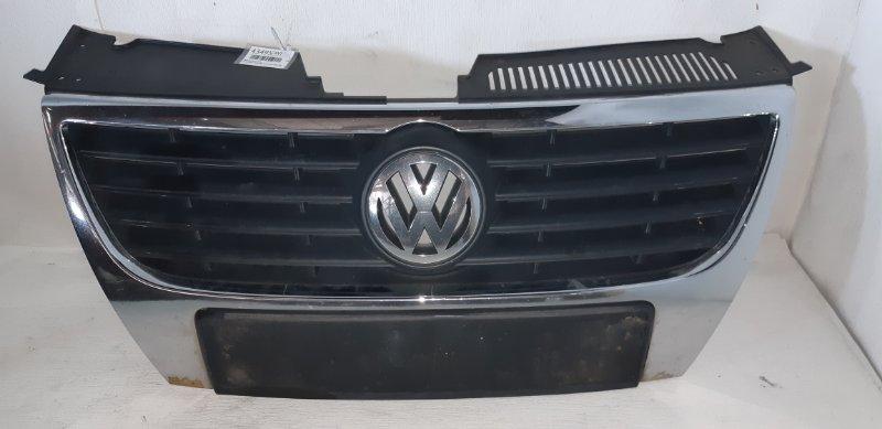 Решетка радиатора Volkswagen Passat B6 1.9 ДИЗЕЛЬ BXE 2007