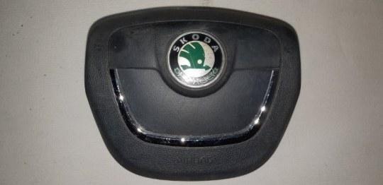 Подушка srs ( airbag ) в руль Skoda Octavia 1.4 TI 2011