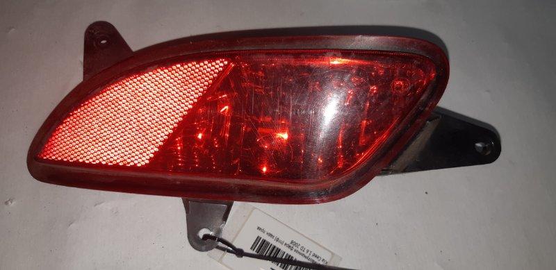 Катафот бампера Kia Ceed 1.6 TD 2008 задний правый
