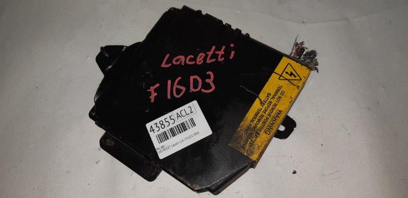 Эбу двс Chevrolet Lacetti 1.6 I F16D3 2008