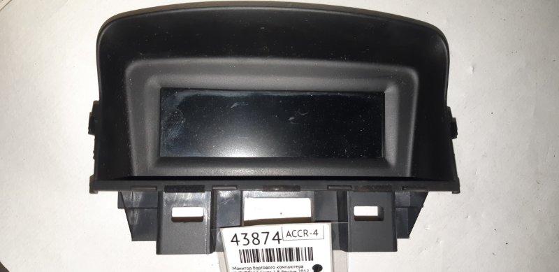 Монитор бортового компьютера Chevrolet Cruze 1.8 БЕНЗИН 2012