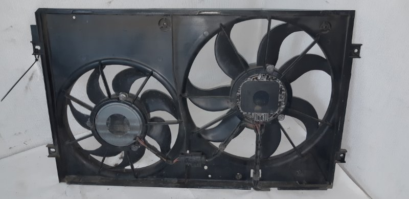 Диффузор с вентилятором Skoda Octavia 1.4 TI 2011
