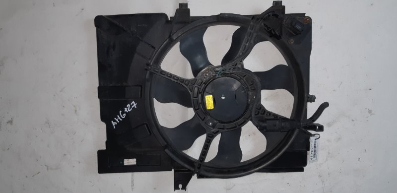 Диффузор с вентилятором Hyundai Getz TB 1.4 I G4EE 2007