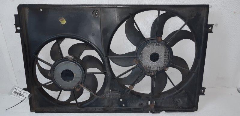 Диффузор с вентилятором Volkswagen Passat B6 1.9 ДИЗЕЛЬ BXE 2007