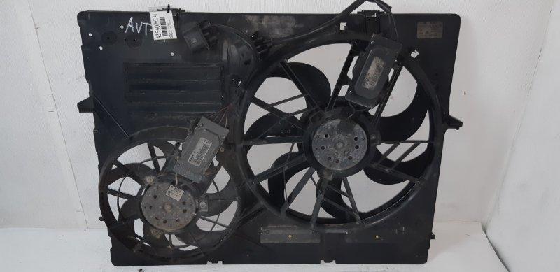 Диффузор с вентилятором Volkswagen Touareg 2.5 TD 2006