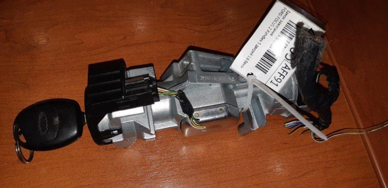 Замок зажигания Ford Focus 2 ХЭТЧБЕК 5 ДВЕРЕЙ 1.6 I 2007