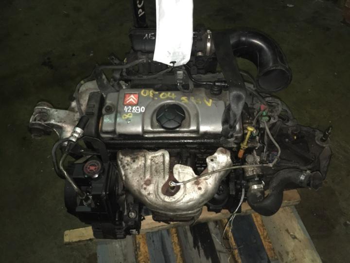 Двигатель с кпп Citroen Xsara 1.4 БЕНЗИН 2004