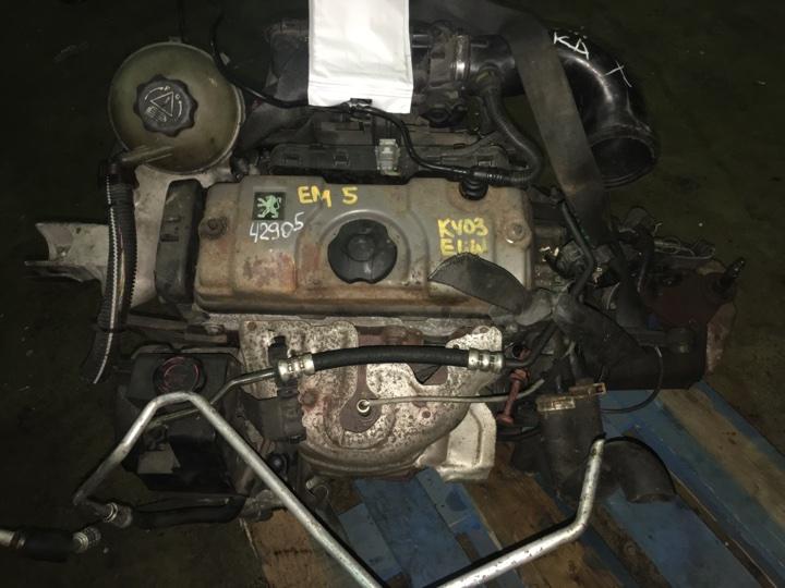 Двигатель с кпп Peugeot 206 1.4 БЕНЗИН 2003