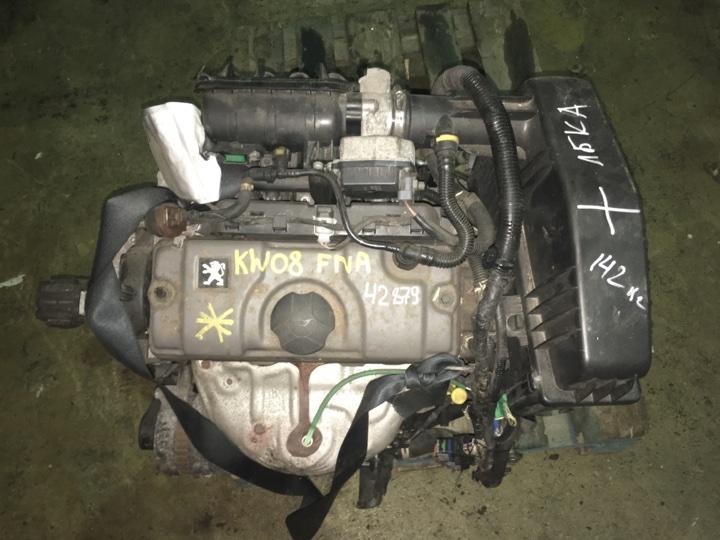 Двигатель с кпп Peugeot 207 1.4 БЕНЗИН 2008
