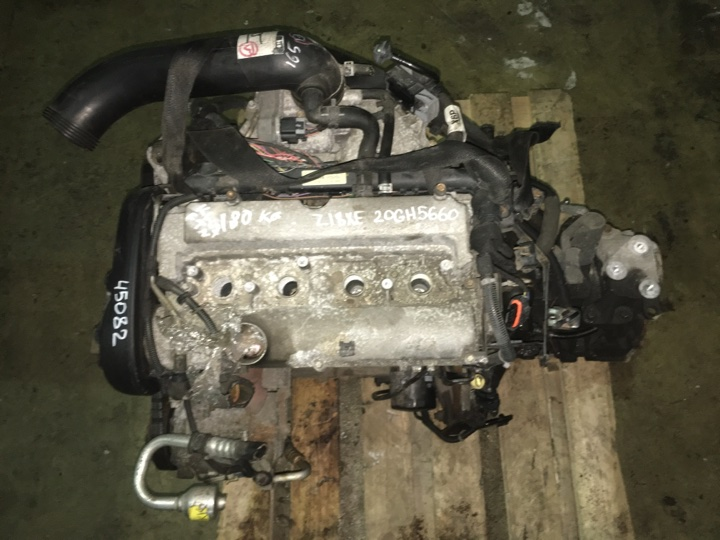 Двигатель с кпп Opel Astra G 1.8 БЕНЗИН 2004