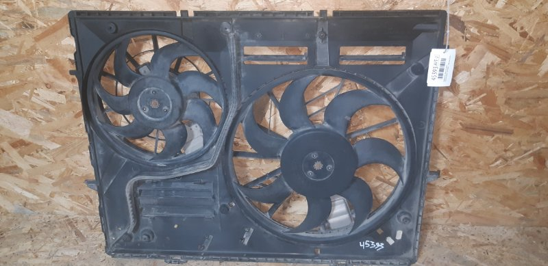 Диффузор с вентилятором Volkswagen Touareg 3.2 БЕНЗИН BMV 2007