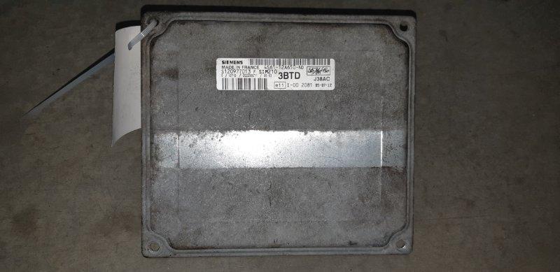 Эбу двс Ford Fusion 1.4 БЕНЗИН 2006