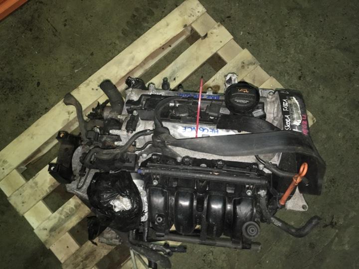 Двигатель с кпп Skoda Fabia 1.4 БЕНЗИН 2006