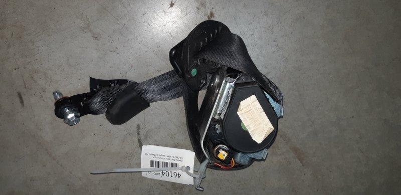 Ремень безопасности Kia Ceed ХЭТЧБЕК 1.4 G4FA 2012 передний правый