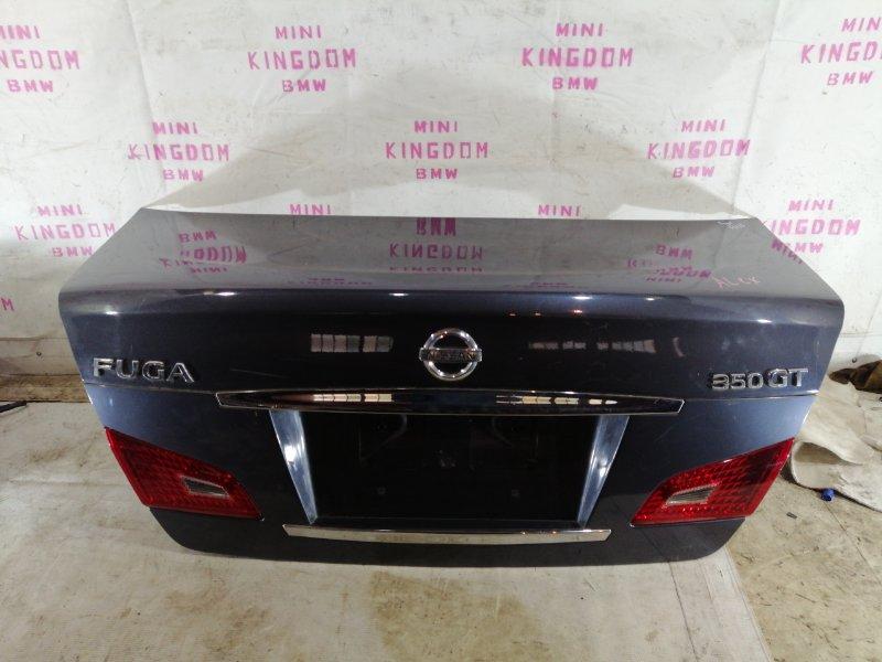 Крышка багажника Infiniti M35 Y50 VQ35DE задняя (б/у)