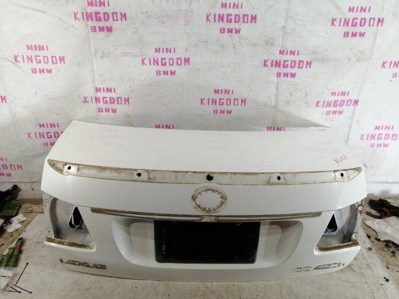 Крышка багажника Lexus Gs450H S190 2GR-FSE задняя (б/у)