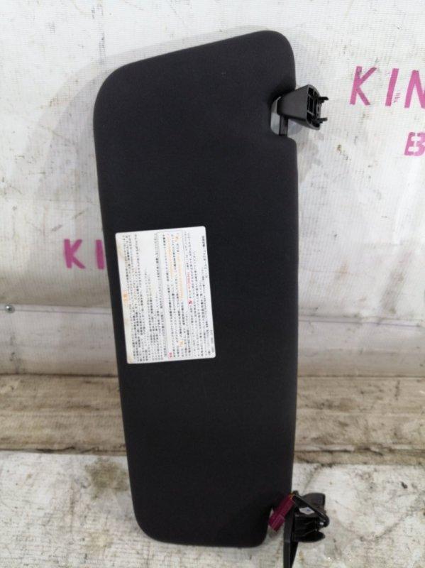 Козырек солнцезащитный Bmw 5-Series E60 N52 2007 левый (б/у)