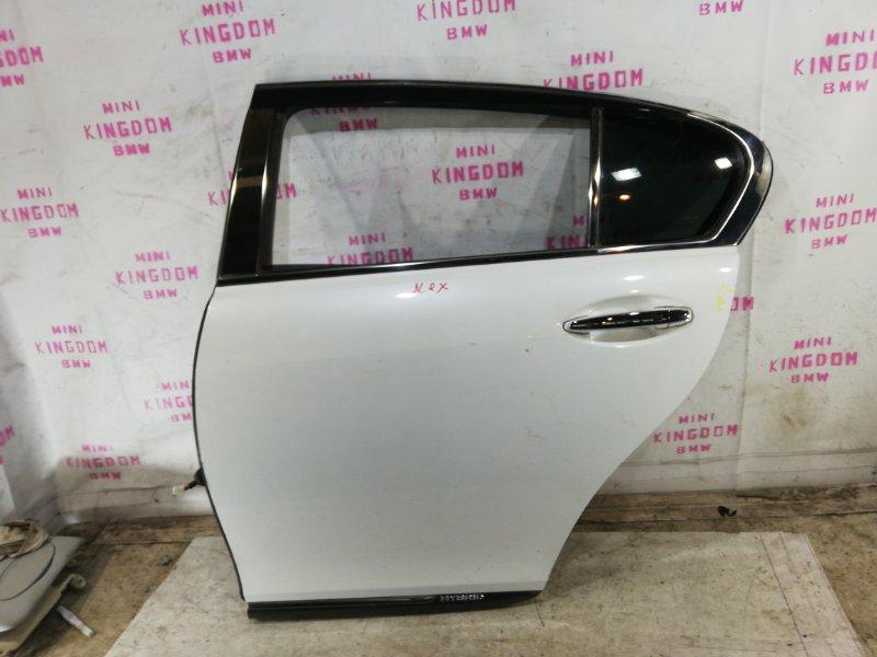 Дверь Lexus Gs450H S190 2GR-FSE задняя левая (б/у)