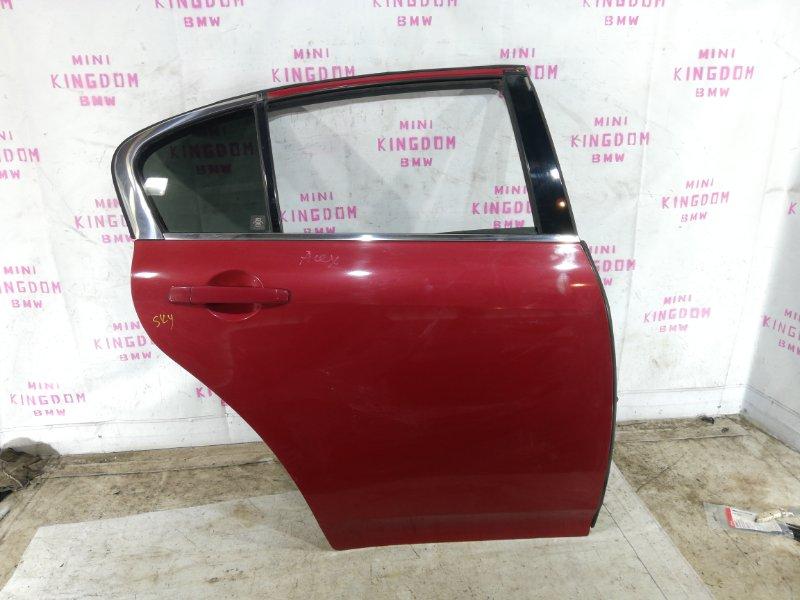Дверь Infiniti G35 V36 VQ35HR задняя правая (б/у)
