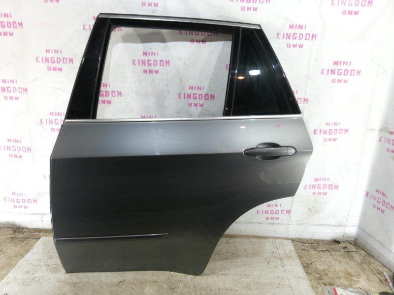 Дверь Bmw X5 E70 N52 2008 задняя левая (б/у)
