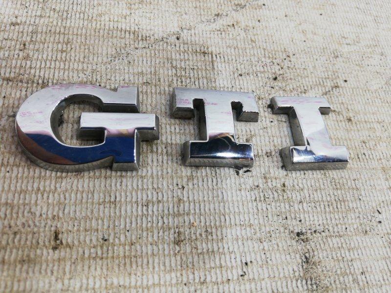 Эмблема Volkswagen Polo V GTI ХЭТЧБЕК CAV 2012 (б/у)