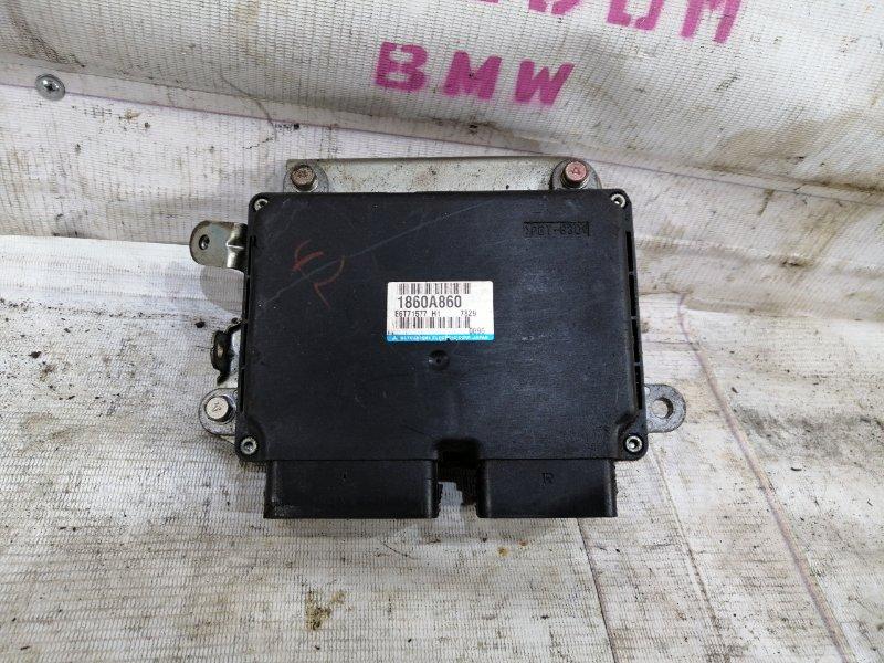 Блок управления двигателем Mitsubishi Lancer 10 4B11 (б/у)