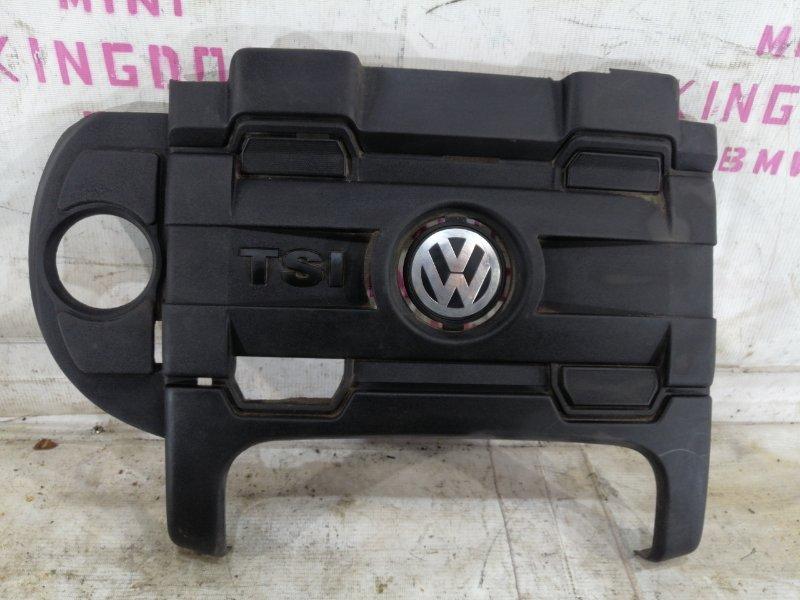 Крышка двигателя Volkswagen Polo V GTI ХЭТЧБЕК CAV 2012 (б/у)
