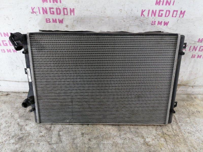 Радиатор двигателя Volkswagen Passat B6 VARIANT BZB 2009 (б/у)
