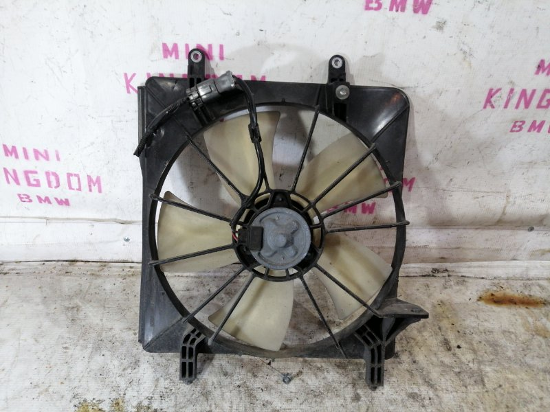 Вентилятор радиатора Honda Accord 7 K24A левый (б/у)