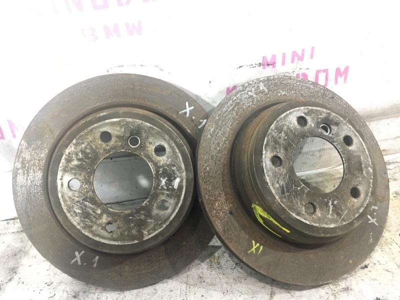 Тормозной диск Bmw X1 E84 N20B20A 2012 задний (б/у)