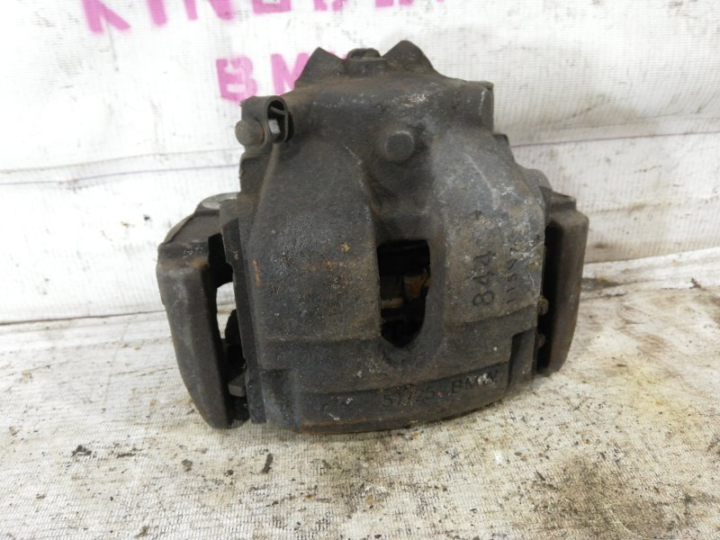 Суппорт тормозной Bmw X3 E83 N52B25A 2006 передний левый (б/у)