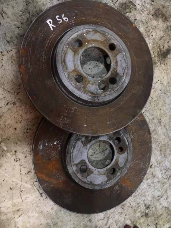 Тормозной диск Mini Cooper R56 N12 2007 передний (б/у)