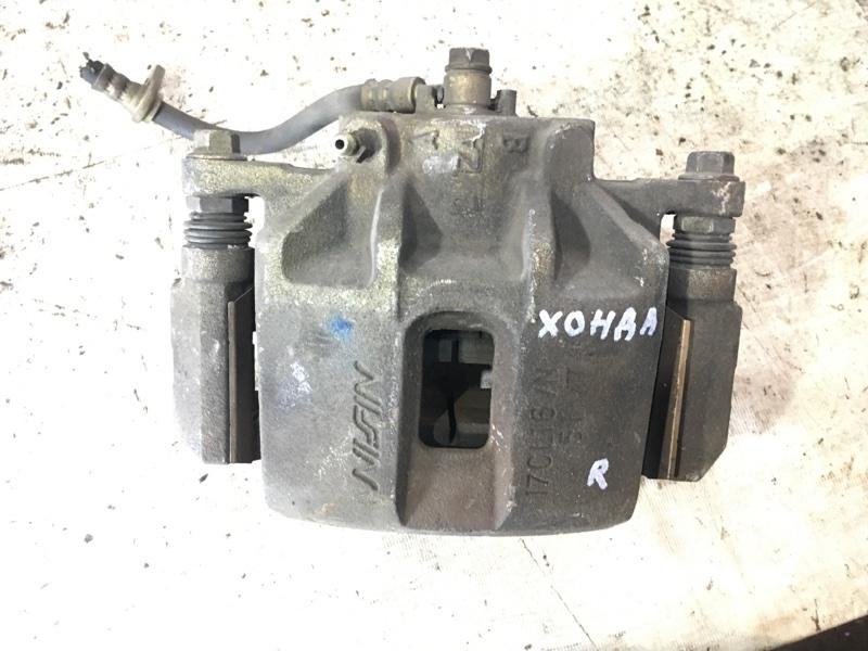 Суппорт тормозной Honda Accord 7 K24A передний правый (б/у)