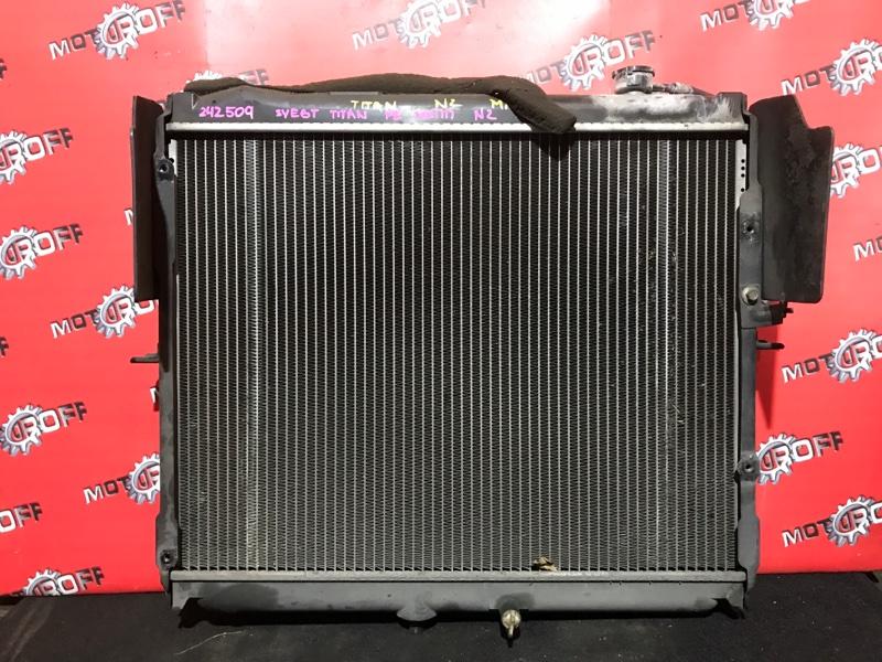 Радиатор двигателя Mazda Titan SY6ET FE 2000 (б/у)