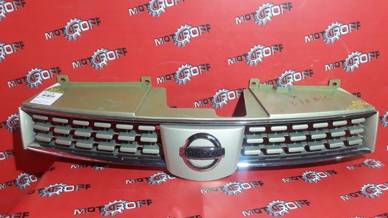 Решетка радиатора Nissan Lafesta B30 MR20DE 2004 (б/у)