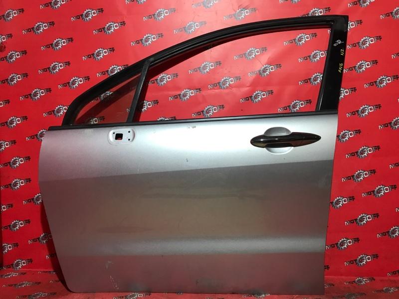 Дверь боковая Honda Stream RN6 R18A 2006 передняя левая (б/у)