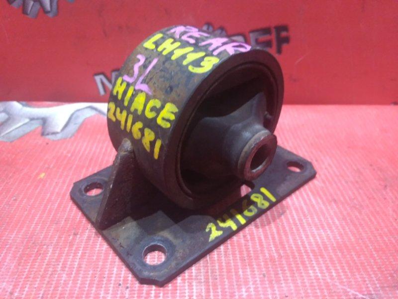 Подушка двигателя Toyota Hiace LH113V 3L 1989 задняя (б/у)