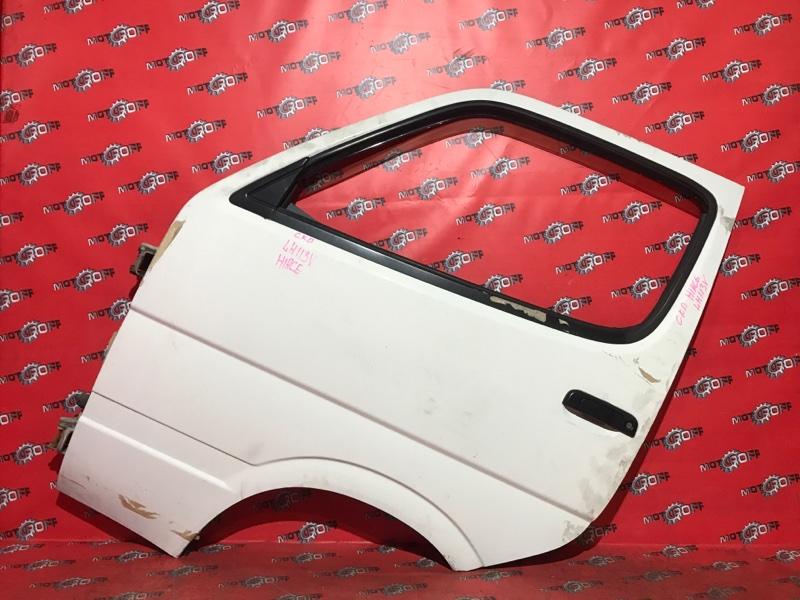 Дверь боковая Toyota Hiace LH113V 3L 1989 передняя левая (б/у)