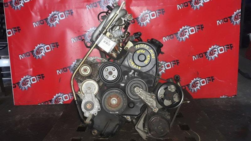 Двигатель Mitsubishi Pajero Mini H58A 4A30 1998 (б/у)
