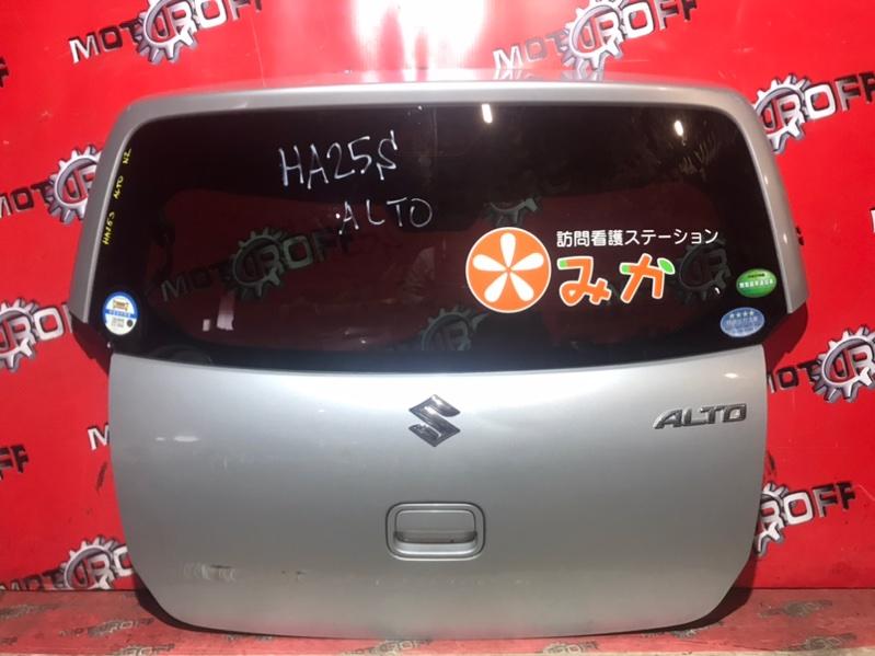 Дверь задняя багажника Suzuki Alto HA25S K6A 2009 задняя (б/у)