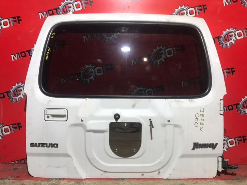 Дверь задняя багажника Suzuki Jimny JB23W K6A 1998 задняя (б/у)